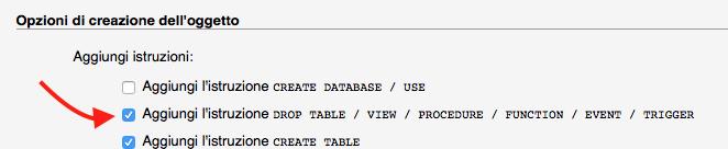 questa opzione è importante se vuoi cambiare il dominio di wordpress