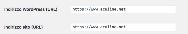 SSL WordPress, cambiare le impostazioni